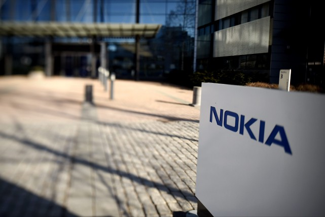 Le groupe finlandais Nokia, maintenant spécialisé dans les... (PHOTO ARCHIVES AFP)