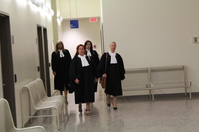 Les délateurs Sylvain Boulanger et Dayle Fredette qui seront appelés à la barre...