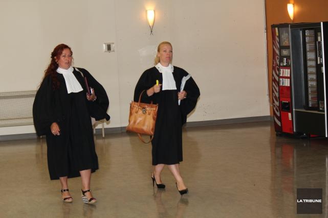Après six ans d'attente le procès SharQc s'est mis en branle ce lundi au centre... (LA TRIBUNE, RENÉ-CHARLES QUIRION)