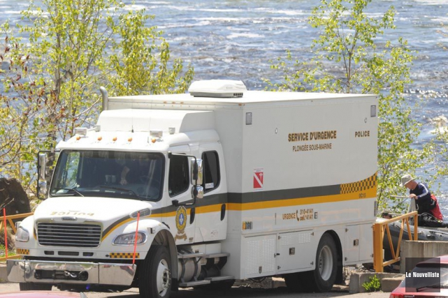 Les plongeurs de la Sûreté du Québec ont retrouvé en soirée, lundi, le corps du... (Archives, Le Nouvelliste)