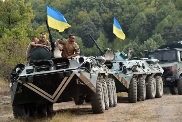 Les forces ukrainiennes ont de nouveau essuyé des... (Photo SERGEI SUPINSKY, AFP)
