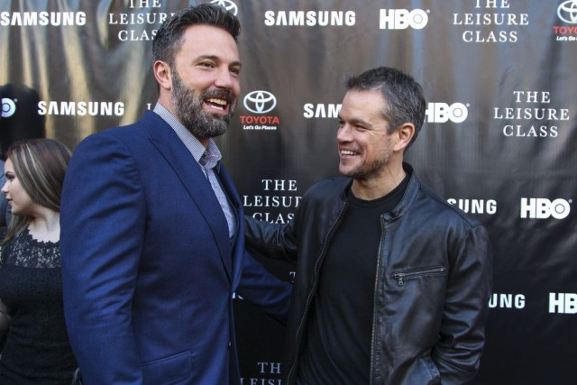 Ben Affleck et Matt Damon lors de la... (PHOTO ARCHIVES AP)