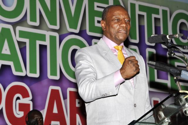 Le président Alpha Condé a été investi à... (Photo Cellou Binani, AFP)