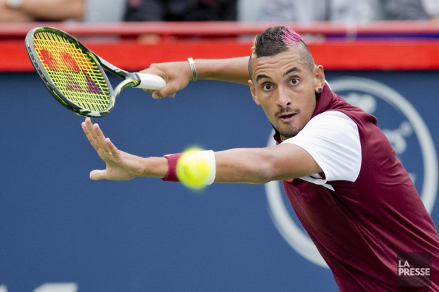 Nick Kyrgios... (PHOTO DAVID BOILY, LA PRESSE)