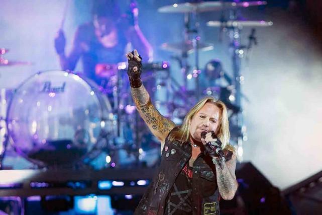 Le groupe californien Mötley Crües'arrêtera au Centre Vidéotron... (Photothèque Le Soleil)