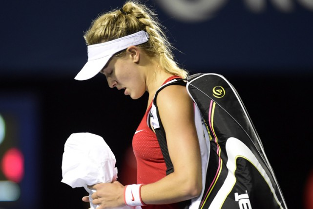 Eugenie Bouchard... (PHOT PC)