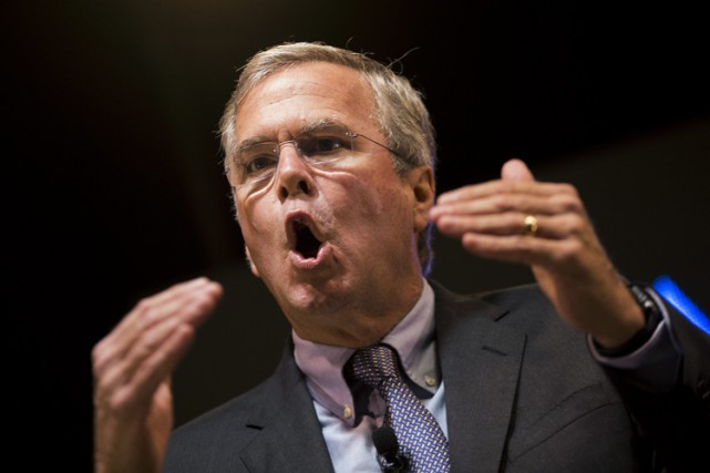 Jeb Bush... (PHOTO AP)