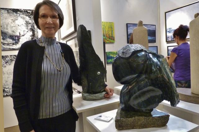 Louise Godin Drolet exposera une vingtaine d'oeuvres à... (photo archives la voix de l'est)