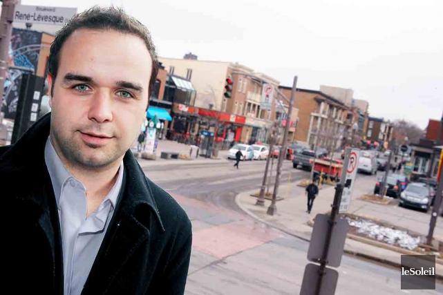 Marc-André Pâlin, directeur général de la SDC Montcalm... (Photothèque Le Soleil, Erick Labbé)