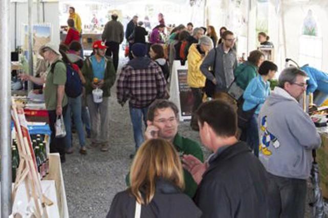 Une trentaine d'exposants seront à la Foire bio... (photo tirée dU WWW.lafoirepaysane.com)