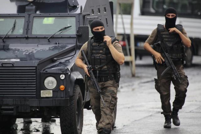 Ankara a lancé le 24 juillet une «guerre... (Photo Huseyin Aldemir, archivesReuters)