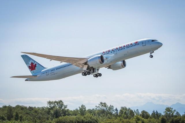 a société aérienne Air Canada (T.AC.B) annonce jeudi qu'au... (PHOTO FOURNIE PAR AIR CANADA)
