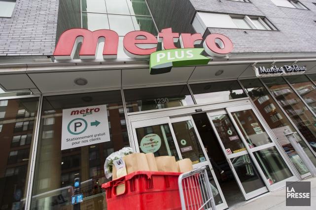 Pour l'exercice, Metro a engrangé des profits de... (PHOTO ARCHIVES LA PRESSE)