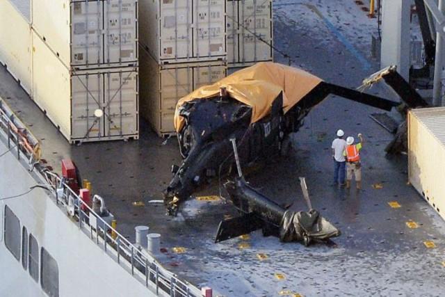 Les six blessés ont été transportés à l'hôpital... (Photo Ryosuke Uematsu/Kyodo News, AP)
