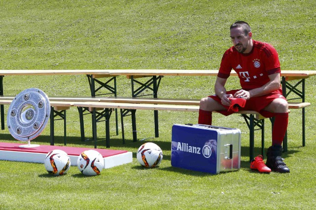 Franck Ribéry... (PHOTO ARCHIVES REUTERS)