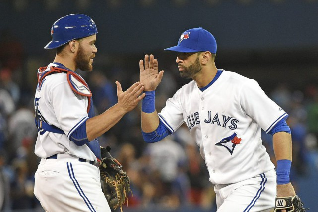 Jose Bautista a claqué son 27e circuit de... (USA TODAY Sports)
