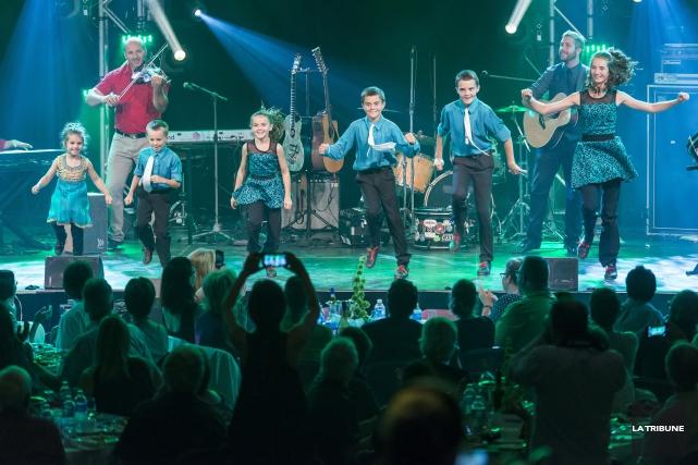 L'Irlande débarquait à Sherbrooke hier soir. Pour sa soirée d'ouverture, le... (IMACOM, JULIEN CHAMBERLAND)