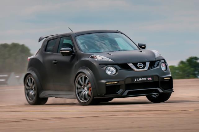 Nissan produirait seulement 17 exemplaires du Juke-R, selon... (Photo fournie par Nissan)