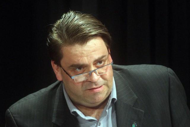 Le conseiller Marc Carrière, également président du comité... (Étienne Ranger, Archives LeDroit)