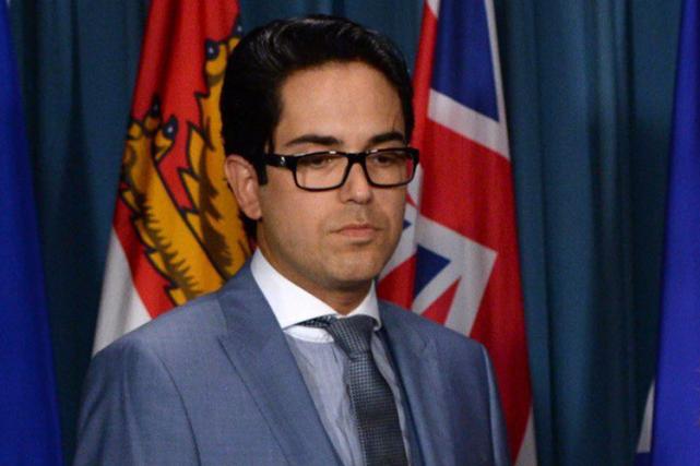 Le député du NPDJonathan Genest-Jourdain estaccusé par un... (Photo Sean Kilpatrick, PC)