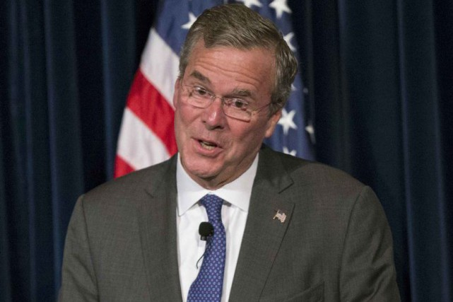 Jeb Bush, le frère cadet de George W.... (PHOTO ARCHIVES REUTERS)