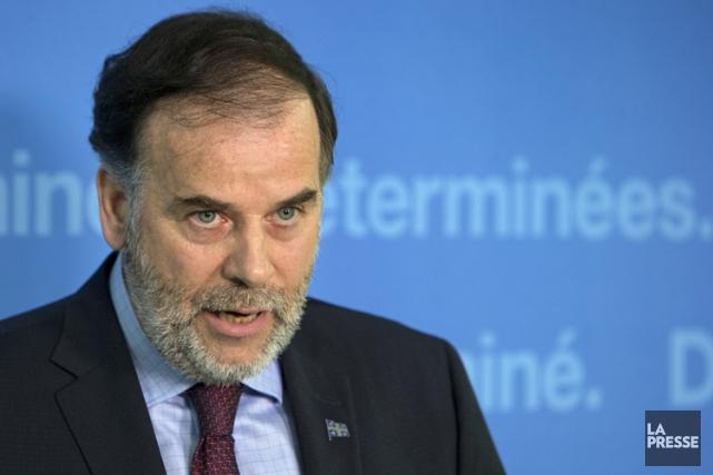 L'ex-député Pierre Duchesne dirigera le cabinet du chef de l'opposition... (PHOTO ROBERT SKINNER, LA PRESSE)