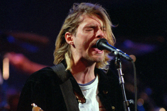 Kurt Cobain... (Photo Robert Sorbo, archives AP)
