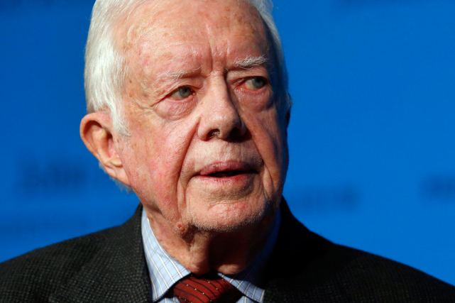 L'ancien président américain Jimmy Carter.... (Photo Elise Amendola, archives AP)
