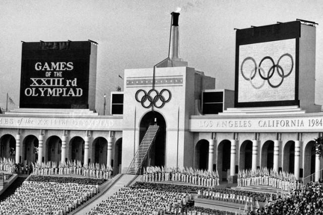 Los Angeles a été l'hôte des Jeux olympiques... (ARCHIVES AP)