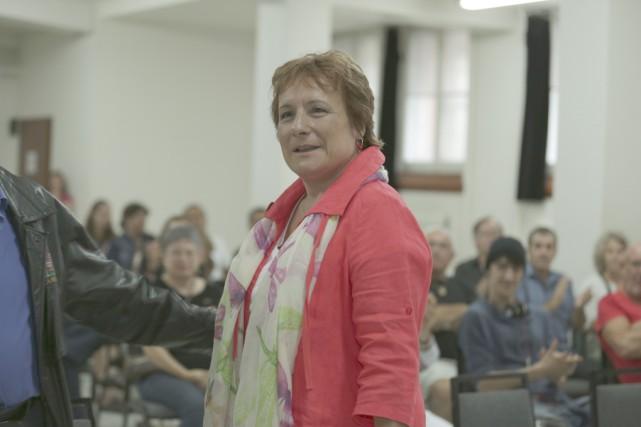 Claire Mailhot a été nommée candidate officielle du... (photo Catherine Trudeau)