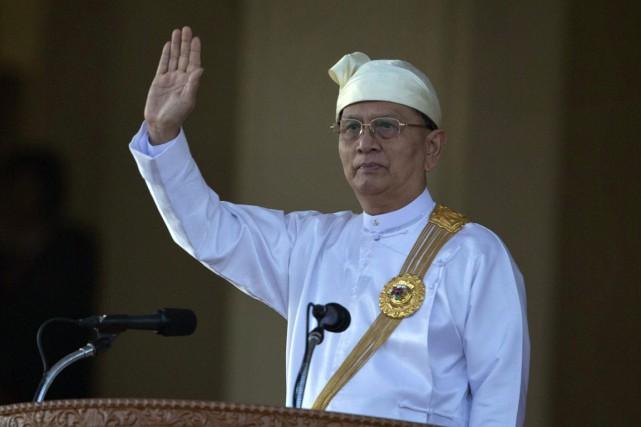 Ces derniers mois, la tension entre Shwe Mann... (Photo d'archives)