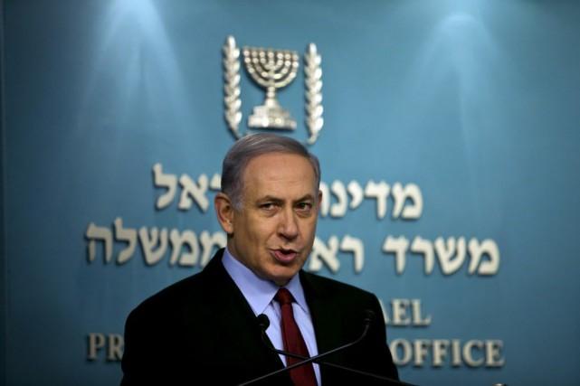 M. Netanyahu n'a pas fourni de détails sur... (Photo Ronen Zvulun, Reuters)
