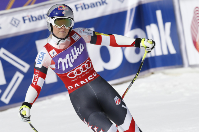 Lindsey Vonn... (Photo Giovanni Auletta, archives AP)