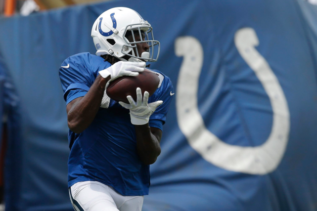 T.Y. Hilton... (Photo Darron Cummings, AP)