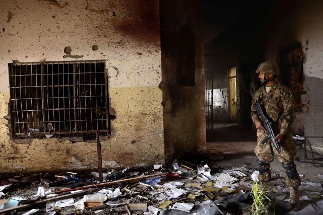 Cette attaque visant une école a été la... (Photo archives AFP)