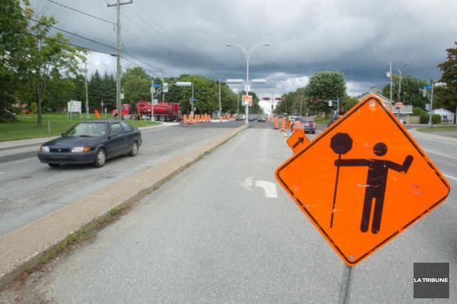 Parmi les chantiers ayant connu un retard important,... (Imacom, René Marquis)