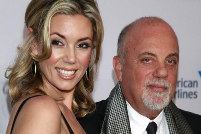Billy Joel et sa femme Alexis... (Photo Carlo Allegri/Invision, AP)