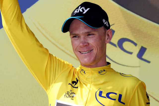 Les exploits de Chris Froome au dernier Tour... (Photo Stefano Rellandini, Reuters)