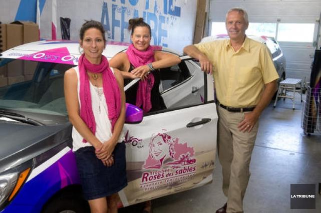 Membres de l'équipe Rose's on Team-Auto Trim Estrie,... (Imacom, René Marquis)