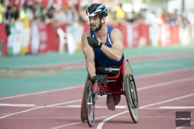 Jean-Philippe Maranda a remporté une seconde médaille de... (Archives, La Tribune)