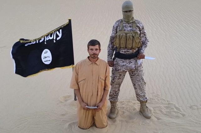 Tomislav Salopek, 31 ans, avait été enlevé le... (Capture d'écran AP)