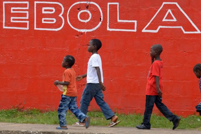 Partie en décembre 2013 du Sud guinéen, l'épidémie... (PHOTO ARCHIVES AFP)