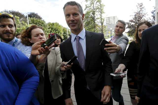 Nigel Wright... (Photo Chris Wattie, Reuters)