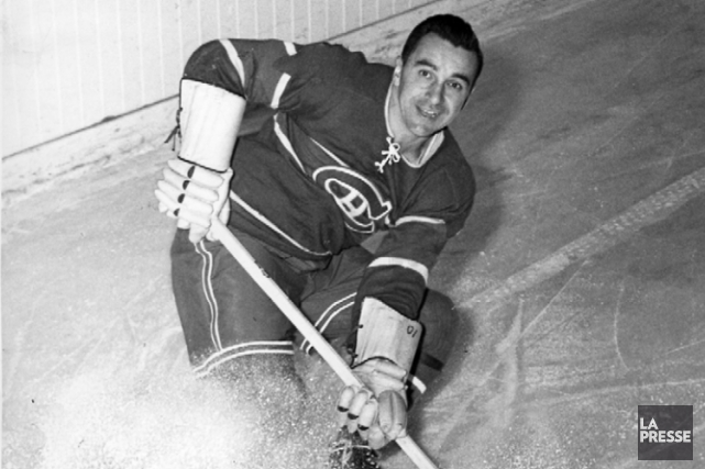 Bob Fillion avec le Canadien en 1948.... (Photo archives La Presse)