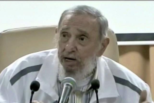 Le 89e anniversaire de l'ex-président cubain Fidel Castro,... (PHOTO ARCHIVES AFP/CUBAVISION)