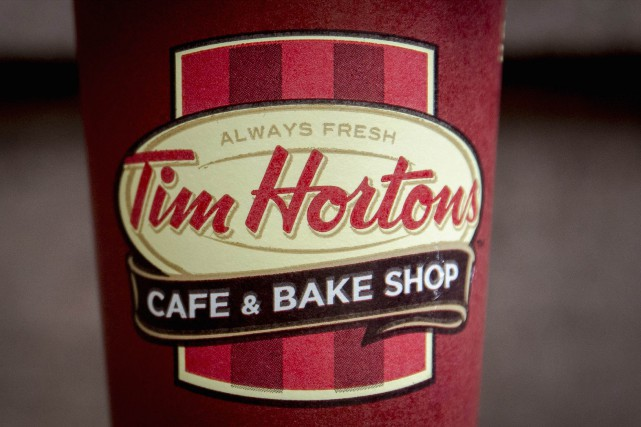 La chaîne Tim Hortons a l'intention de prendre des mesures contre les... (PHOTO ARCHIVES REUTERS)