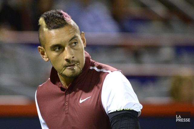 Nick Kyrgios... (PHOTO BERNARD BRAULT, LA PRESSE)