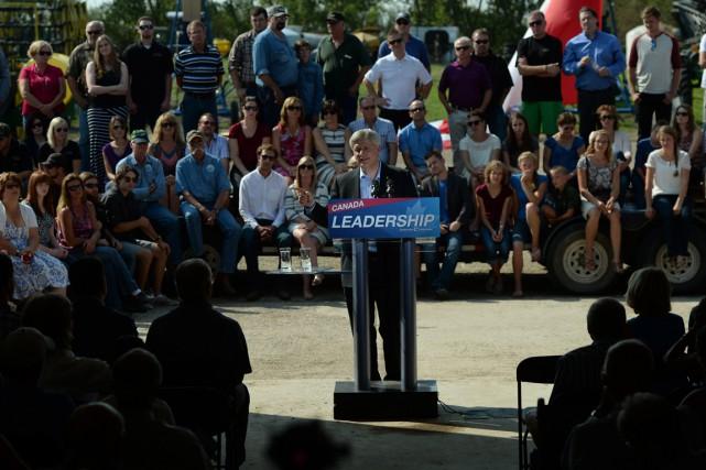 «Je répète ce que j'ai dit depuis le... (Photo La Presse Canadienne)
