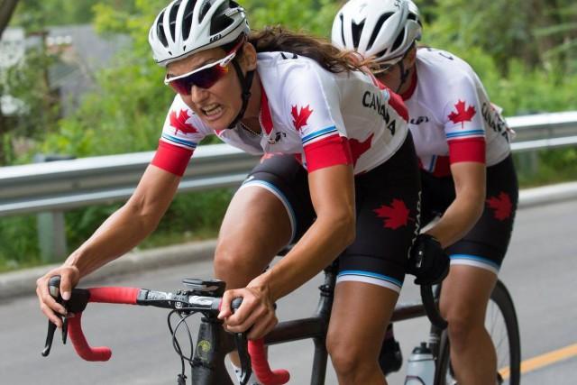 Audrey Lemieux et Robbi Weldon ont vraiment tout... ((Photo Comité paralympique canadien, Dan Galbraith))