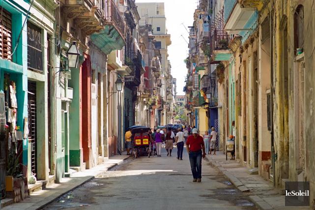 La Havane à Cuba.... (Photothèque Le Soleil)
